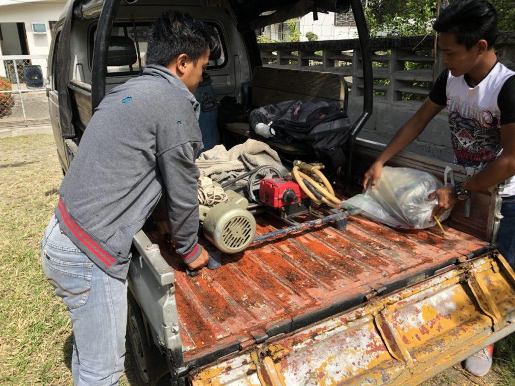 フィリピン・害虫駆除|殺虫用の機材