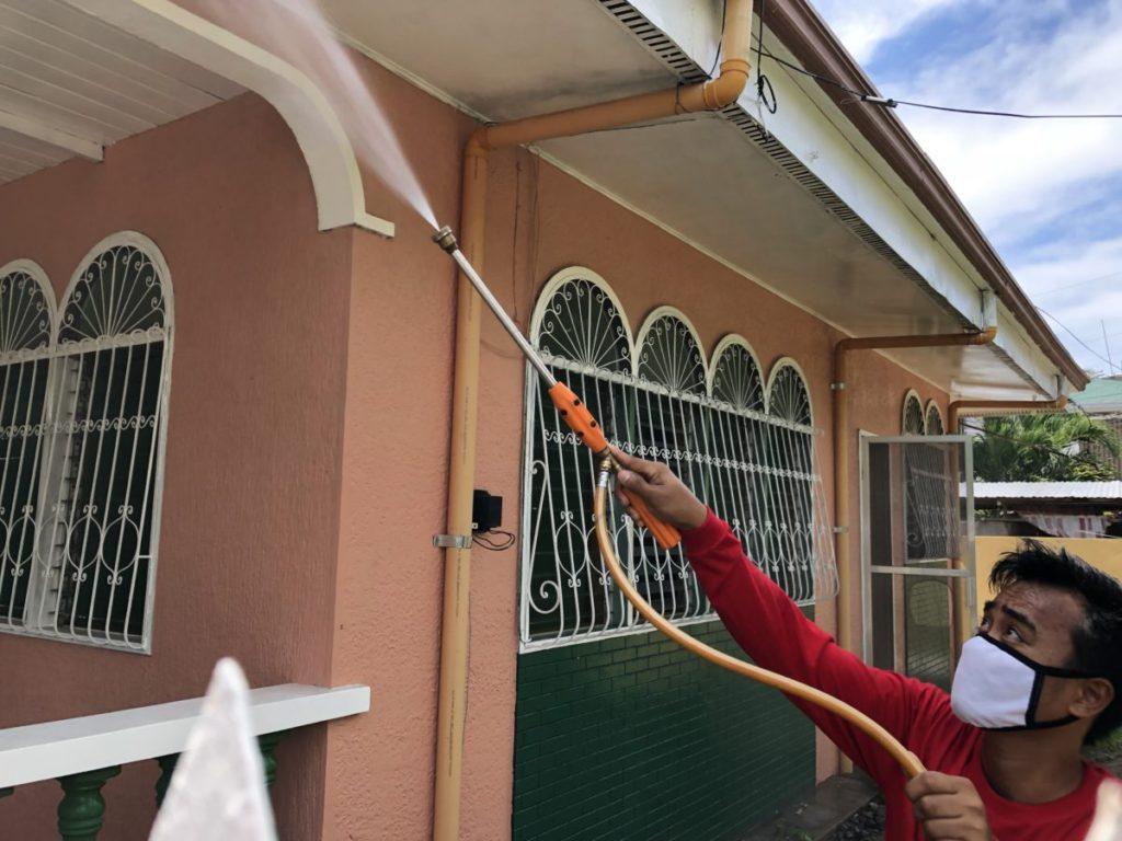 フィリピン・害虫駆除|噴出式スプレー