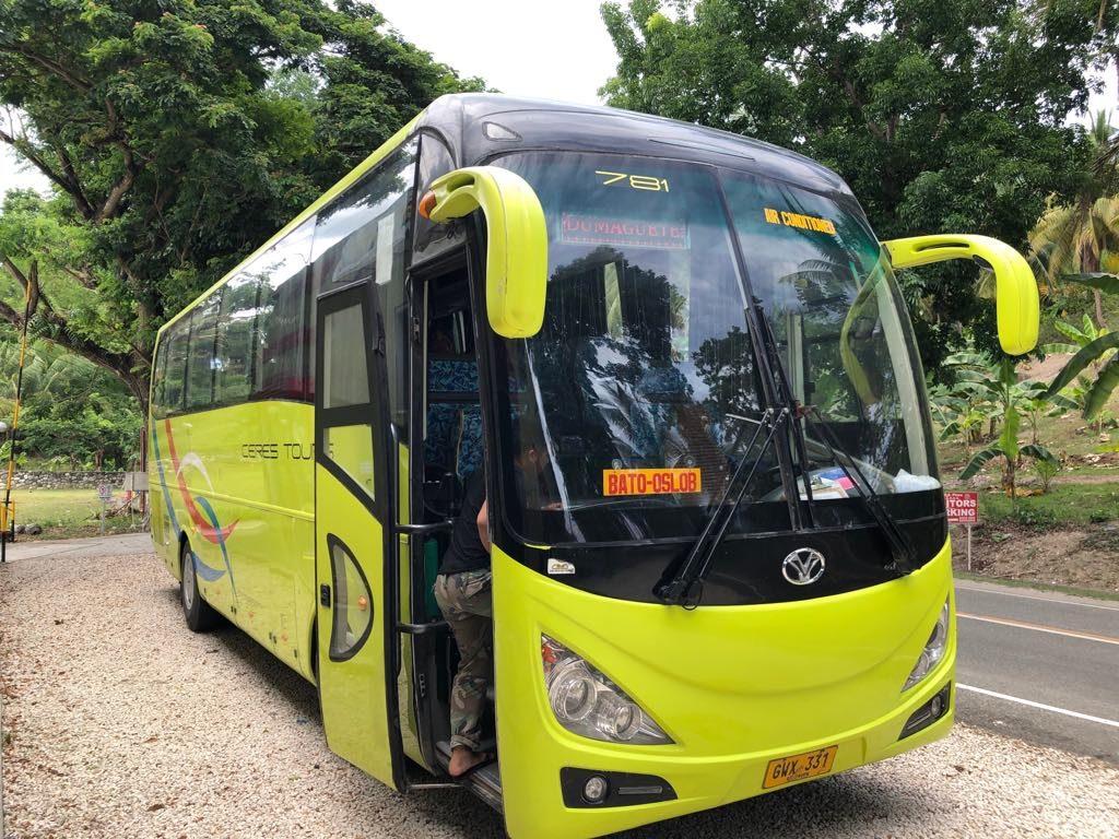 ドゥマゲッティーセブ移動のセレスバス