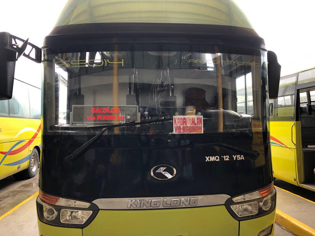 バコロド行きのバス