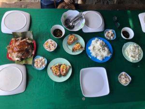 レチョンとアニマルマーケットの食堂・マラタパイ