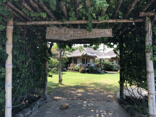アポ島にも近いホテル