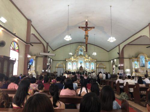 フィリピンの結婚式での儀礼