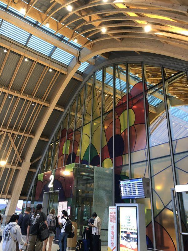 マクタン空港の新しいターミナル2