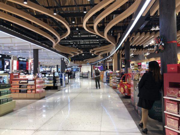 セブ空港の新しい免税店