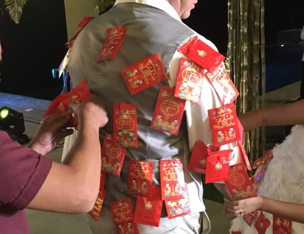 フィリピンの結婚式でのご祝儀のスタイル