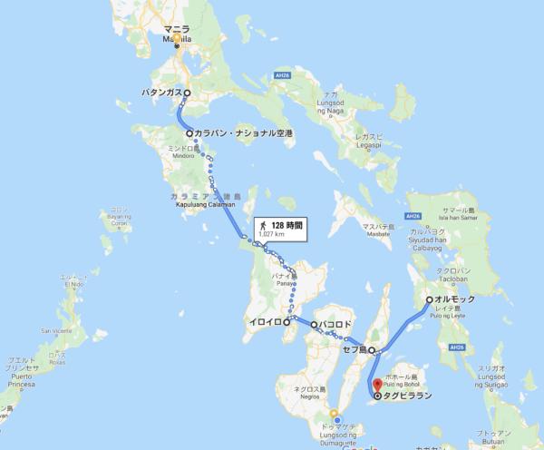 スーパーキャットの就航するフィリピンの港一覧
