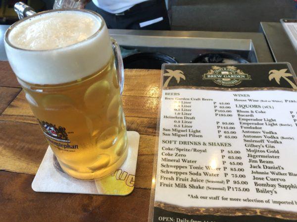 フィリピン・ドゥマゲッティのクラフトビール・レストラン