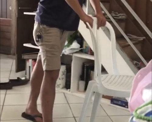 痛風になった時に椅子を活用すると楽だ