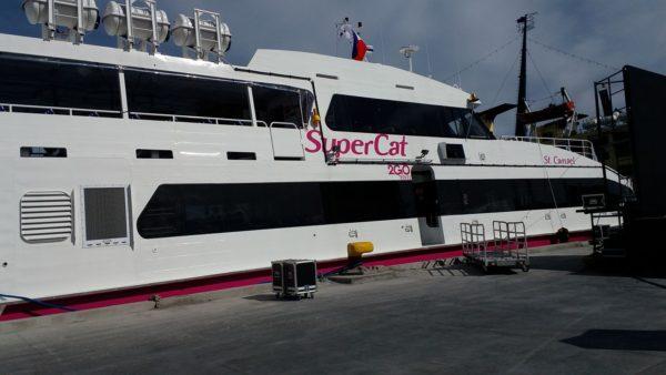 フィリピンの高速船「スーパーキャット」