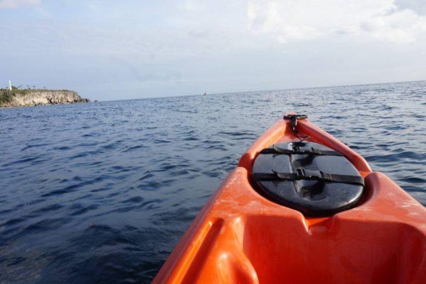 シーカヤックでシキホール島を周遊