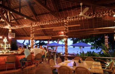 アトランティスのビーチサイド・レストラン