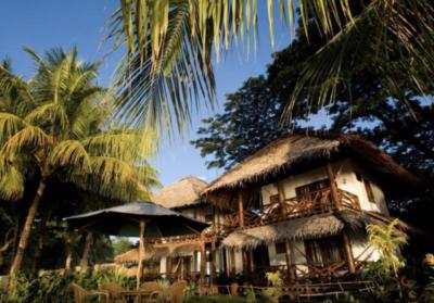 フィリピン・ドゥマゲッティのビーチリゾート