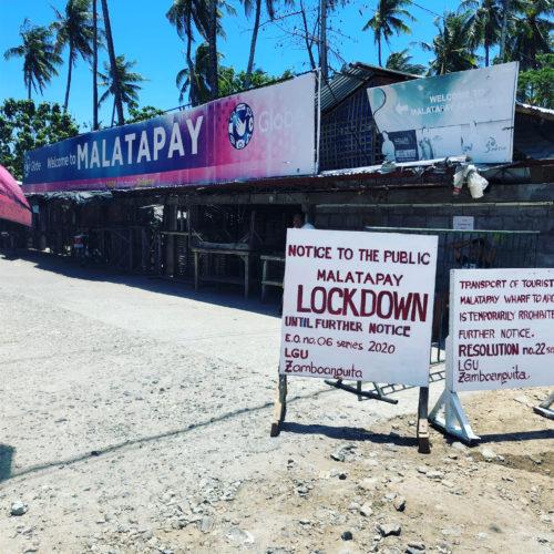 フィリピンのコロナ状況:マラタパイのマーケットもコロナで閉鎖(ロックダウン)された