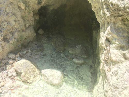 ドゥマゲッティ温泉の源泉