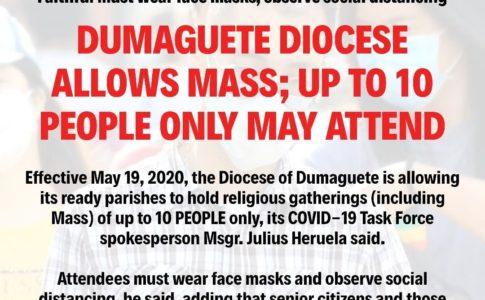 フィリピン・ドゥマゲッティの禁酒令