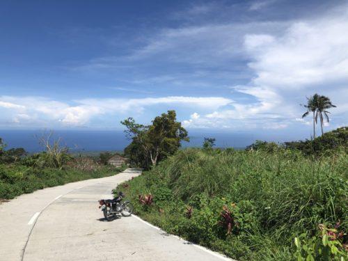 ホット・スプリングから海が見渡せる