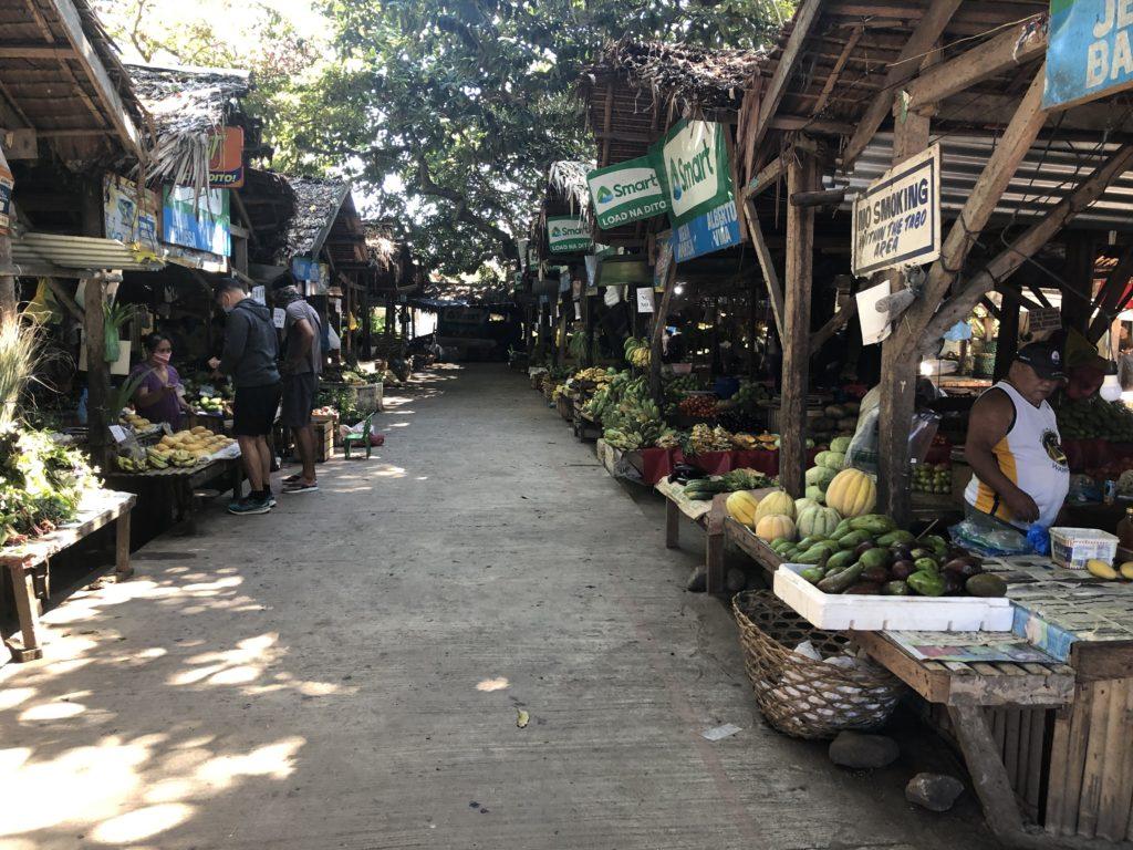 ドゥマゲッティのパブリックマーケット