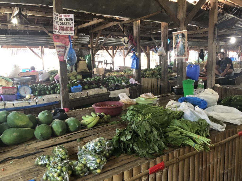 ドゥマゲッティの公設市場