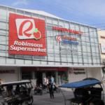 ドゥマゲテのロビンソン・スーパーの外観
