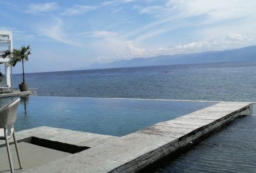 ネグロス島アムランのリゾート「Cana Retreat」のプール