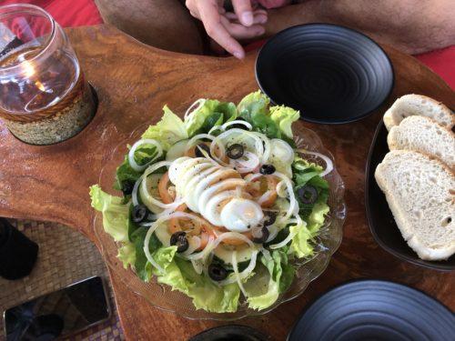 ドゥマゲッティ・ダーウィンのカフェバーSOGA「エッグサラダ」