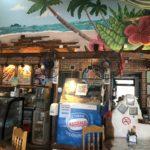 ドゥマゲッティのレストラン「ギャビーズ」店内