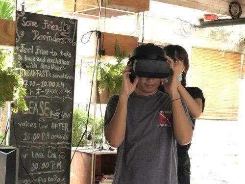 バーチャルリアリティをフィリピンで体験2