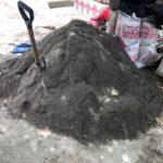 コンクリ用の砂1