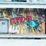 コロナパンデミックのストリートアート