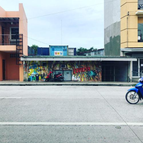 コロナパンデミックのストリートアート3