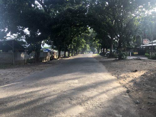 ドゥマゲテの住宅地「クレイタウン」