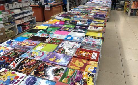 フィリピンの文房具店「カンズ」
