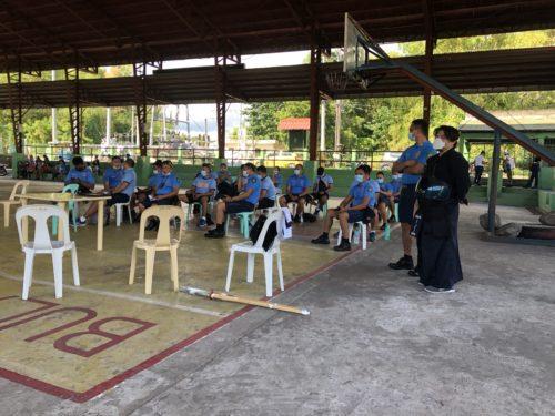 フィリピン警察への剣道講習