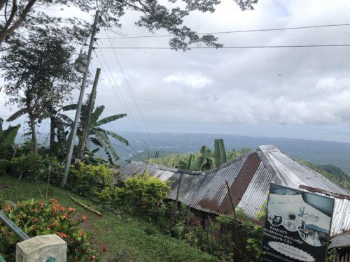 高台の景色