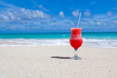 フィリピンのビーチで休暇が夢
