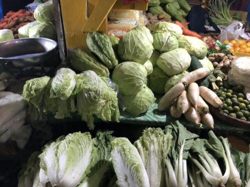 パブリックマーケット野菜コーナー