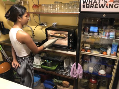 whats brewing 店内